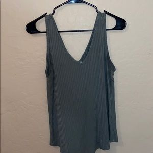Mudd dark green tank top